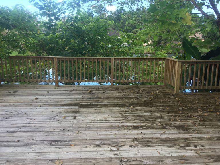 pressure cleaning deck Jacksonville fl