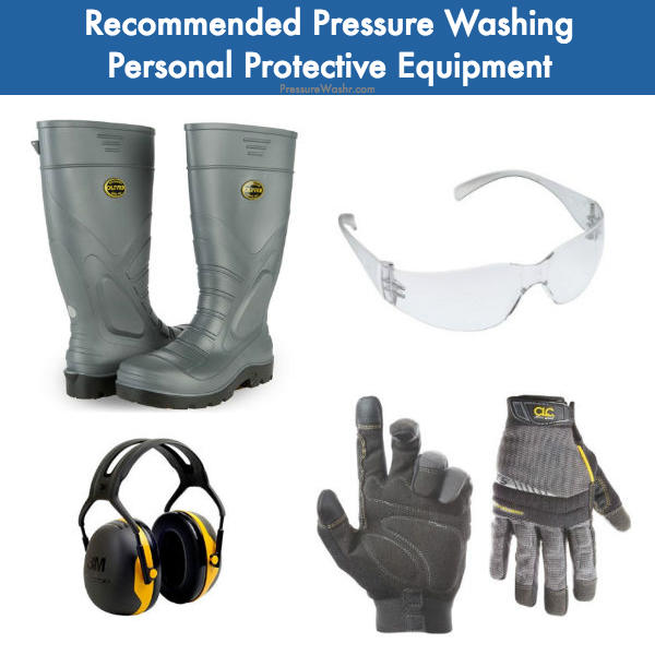 adams pressure cleaning safety equipment