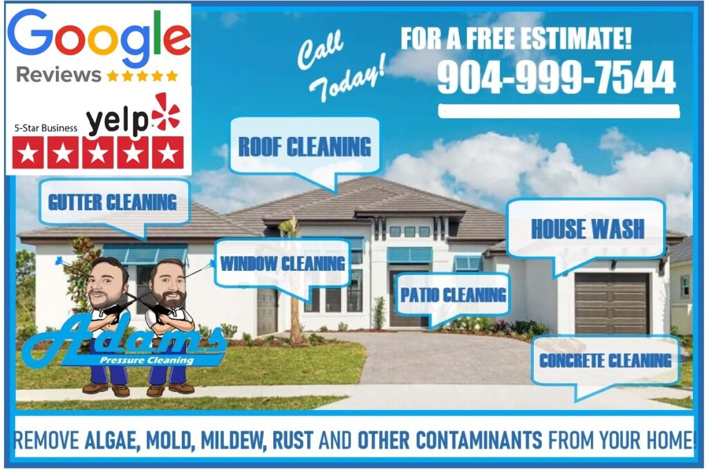 Adams Pressure Cleaning Services