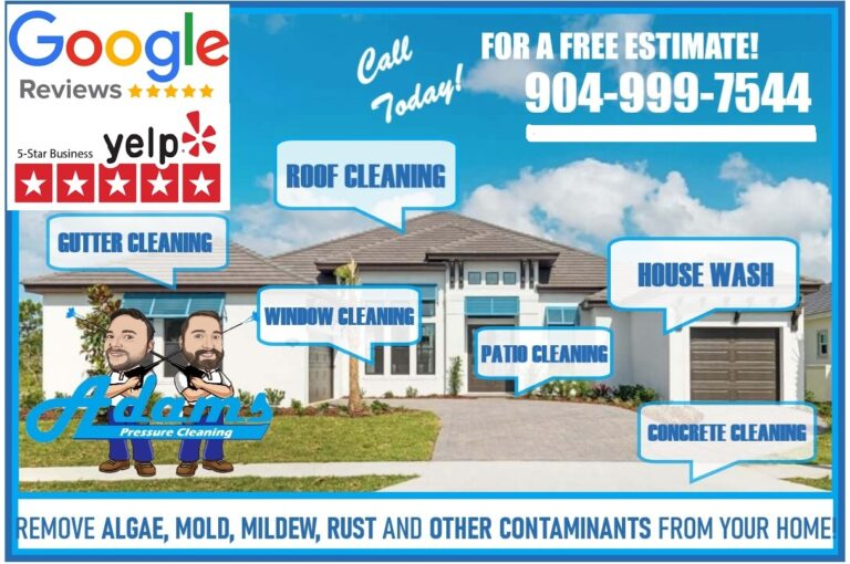 Adams Pressure Cleaning Services Jacksonville