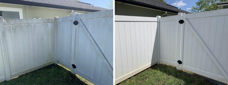 fence pressure washing jacksonville fl